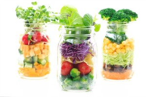 Salad In A Jar | Clean Eating