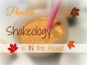 Pumpkin Shake Recipe