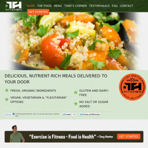 Tony Horton Kitchen ~ Meals That Deliver