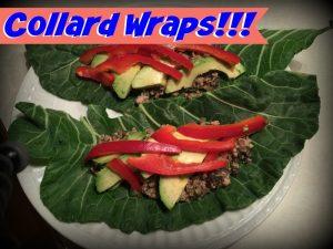 Collard Wraps | Clean Eating