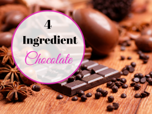 4 Ingredient Chocolate