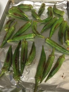 Roasted Okra? NO WAY!