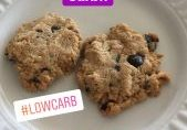 low carb chocolate chip cookie